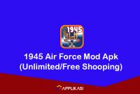 1945 Air Force Mod Apk