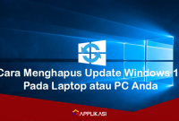 Cara Menghapus Update Windows 10