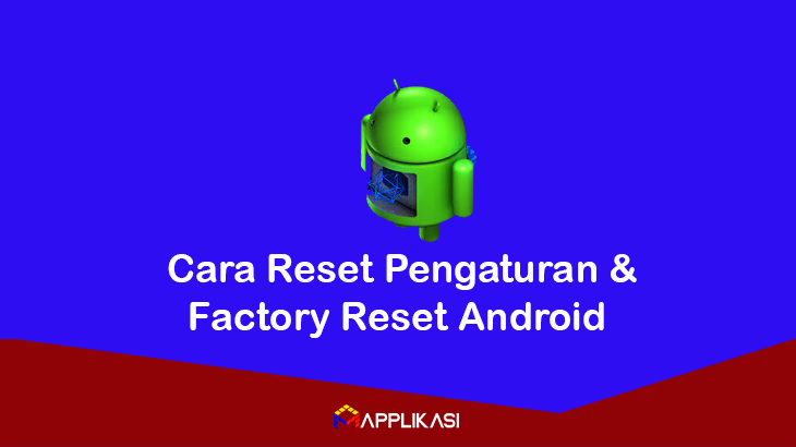 cara reset android