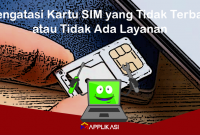 Mengatasi Kartu Sim Tidak ada layanan