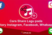 Cara Menambahkan Lagu di Story Instagram