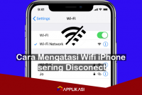 Cara Mengatasi Wifi iPhone sering Disconect