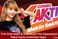 Trik Menggunaan Kuota Media Sosial Unlimited Apps