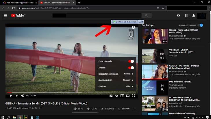 Kuota Media Sosial Unlimited Apps Telkomsel download film di youtube