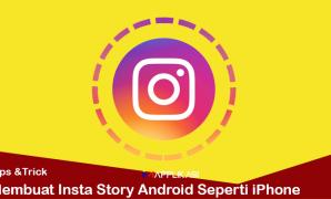 Membuat insta story android seperti iphone