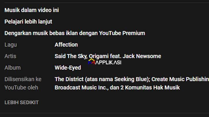 lisensi youtube