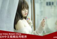 aplikasi video bokeh china