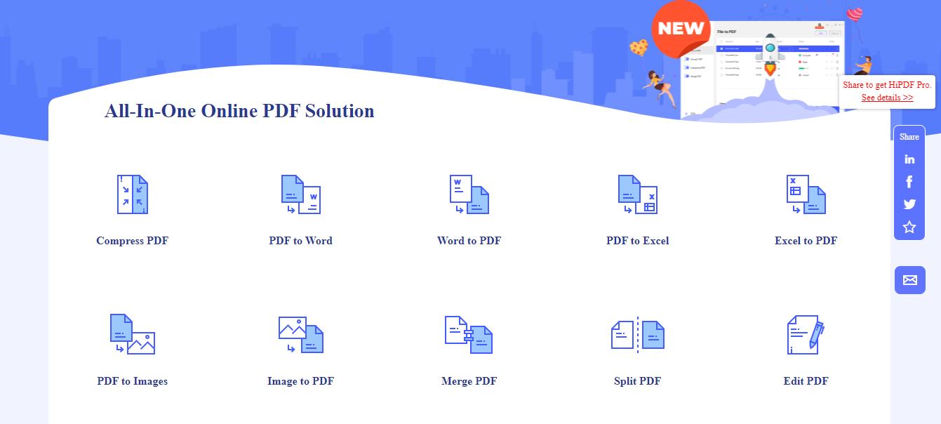 Cara Convert Foto JPG ke PDF Melalui situs web (Online)