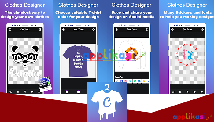 Clothes Designer   T-shirt Design & Clothes Maker