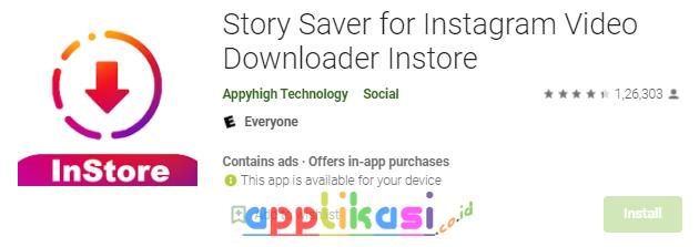 cara download story ig di android