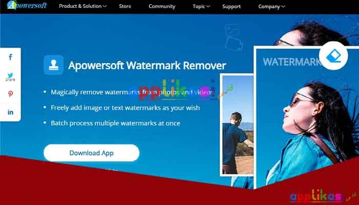 cara menghapus watermark video di komputer