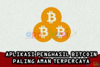 aplikasi bitcoin paling aman terpercaya